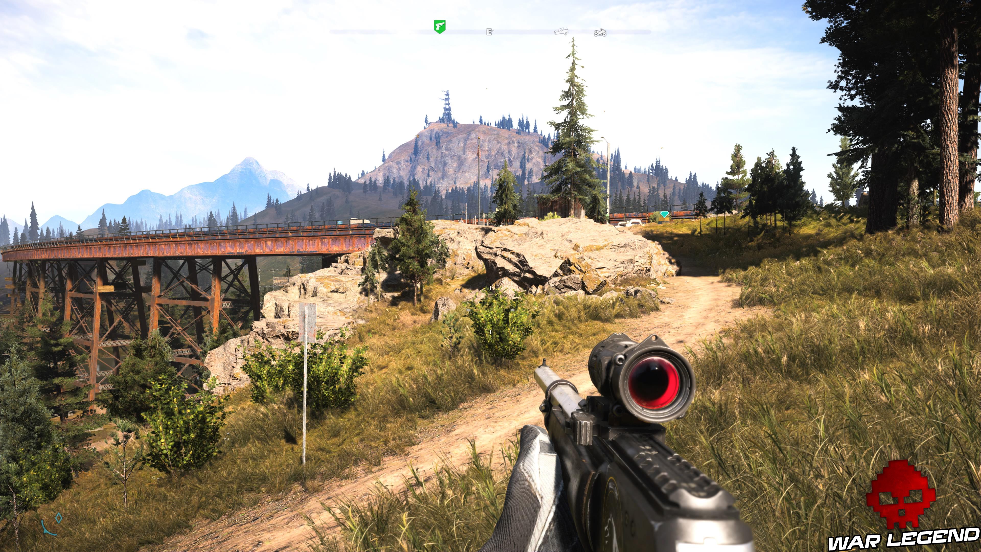 Guide Far Cry 5 caches survivalistes région de John pont des larmes