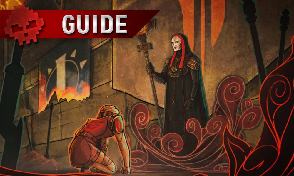 Guide Tyranny - Maîtriser la création de personnage artwork homme devant sujet agenouillé