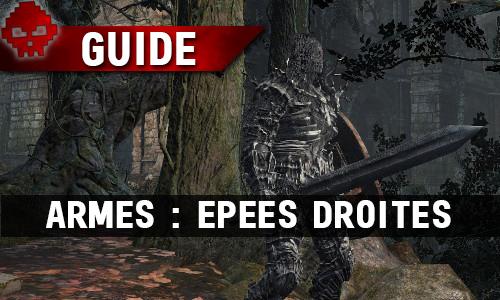 Guide WL Dark Souls III épées droites