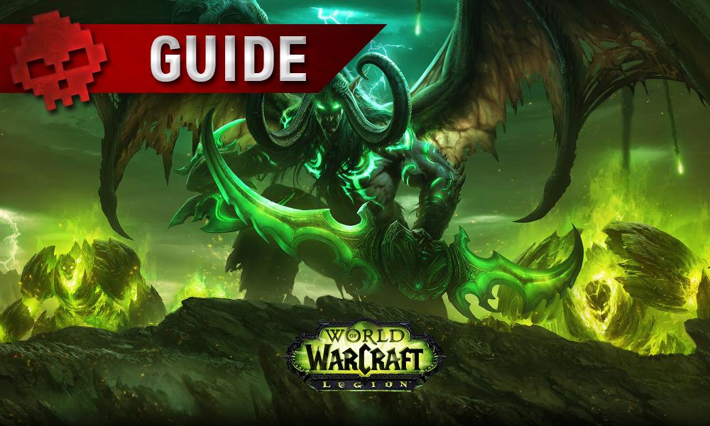 Guide WoW Legion - Guide des îles brisées une