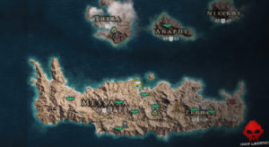 Guide assassin's creed odyssey emplacement pégase bondissant