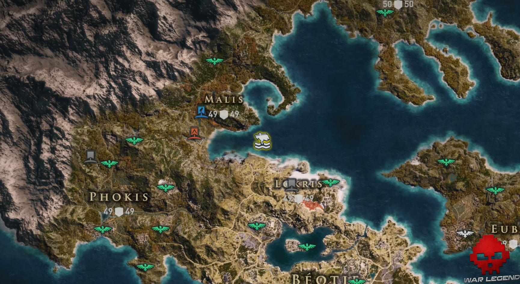 Guide assassin's creed odyssey emplacement perses