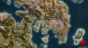 Guide assassin's creed odyssey emplacement spartiates