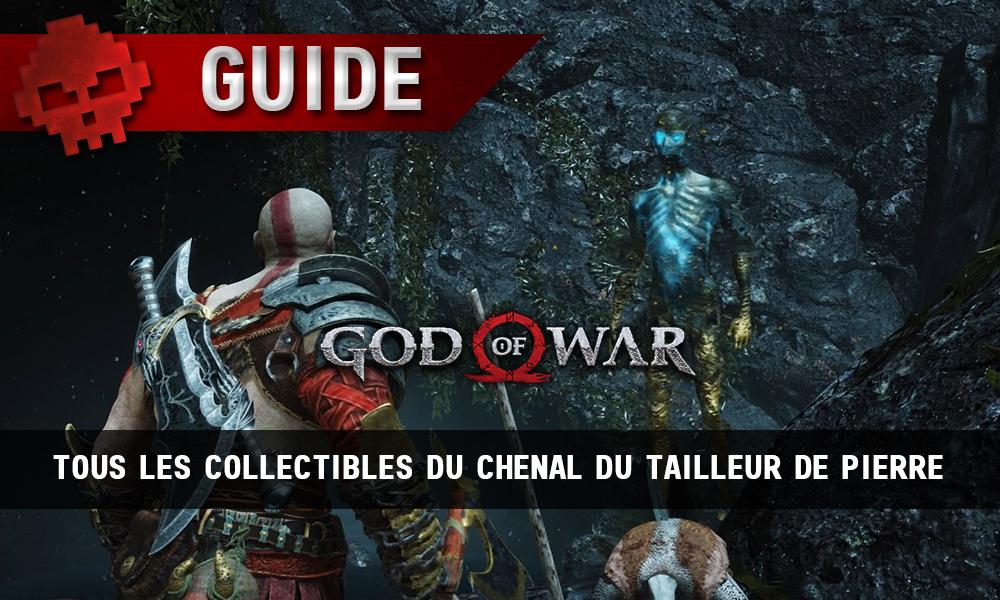 Guide collectibles god of war chenal tailleur de pierre vignette soluce