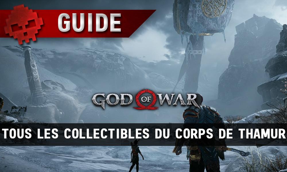 Guide collectibles god of war corps de thamur vignette