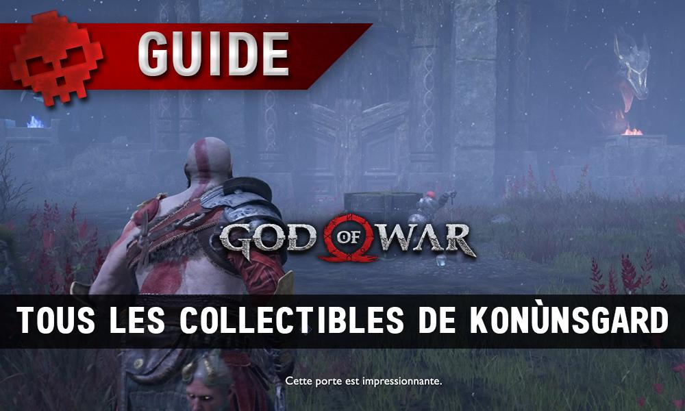 Guide collectibles god of war konunsgard vignette soluce