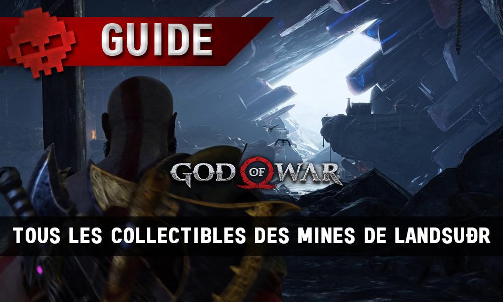 Guide collectibles god of war mines de landusdr soluce