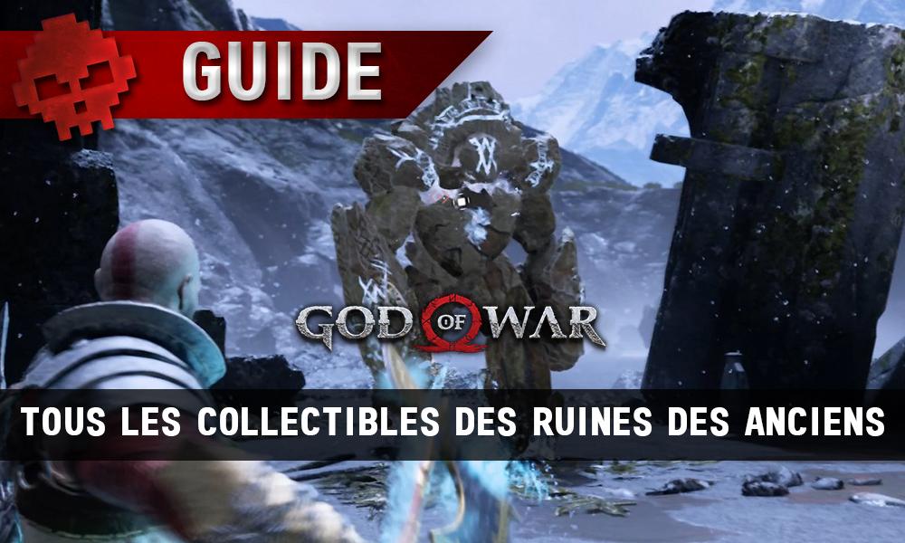 Guide collectibles god of war ruines des anciens vignette