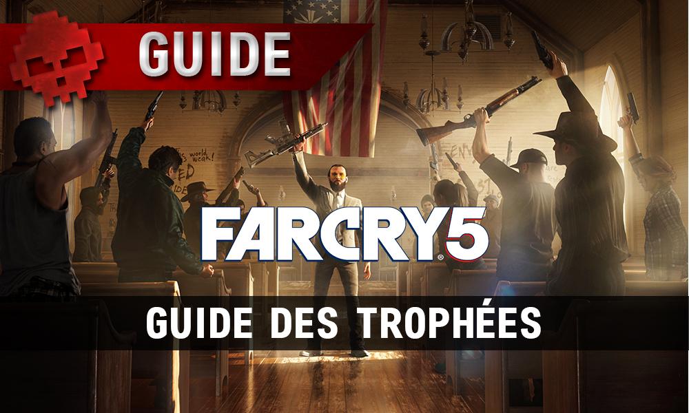 Guide des trophées Far Cry 5