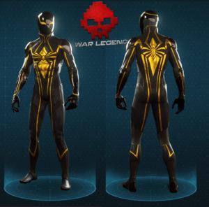 Guide spider-man costume Spider-armure mk2