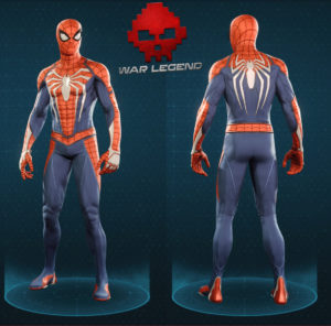 Guide spider-man costume avancé
