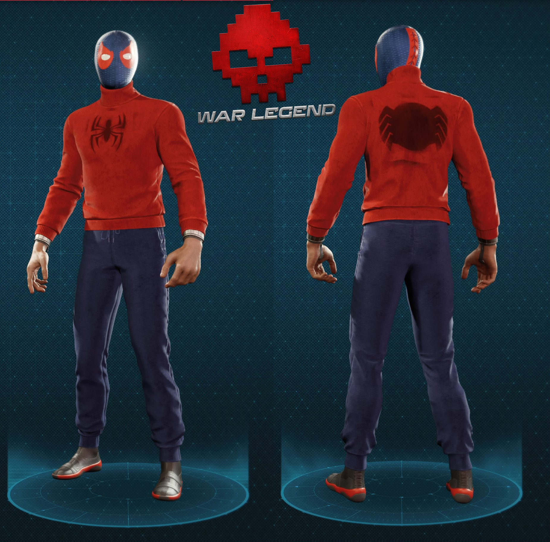 Guide spider-man costume de catch