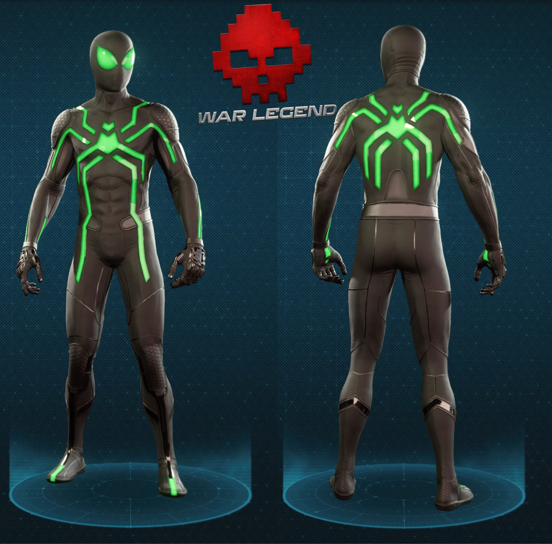 Guide spider-man costume furtif