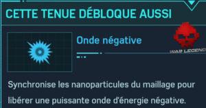 Guide spider-man costume négatif onde négative
