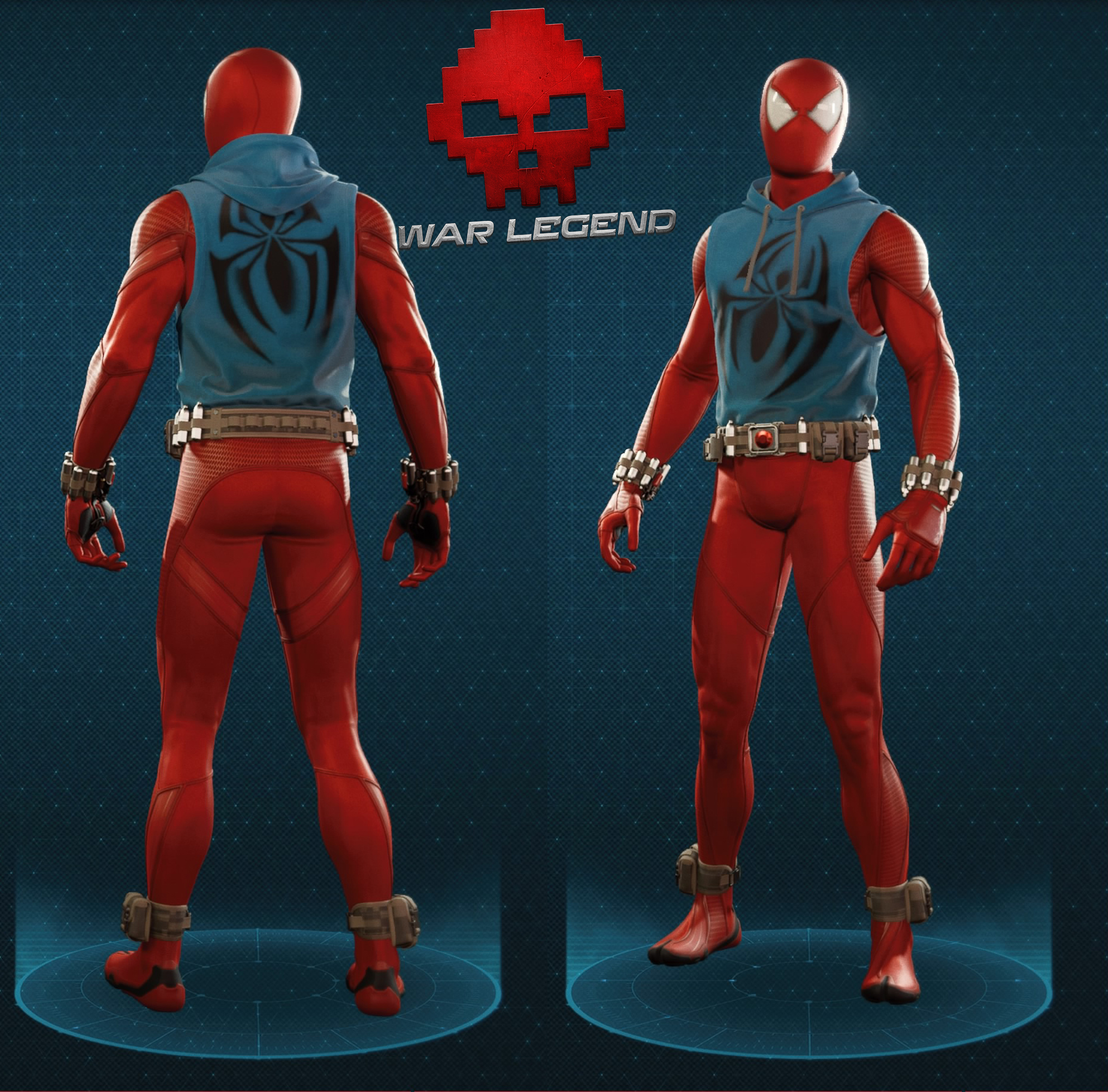 Guide spider-man costume scarlet spider