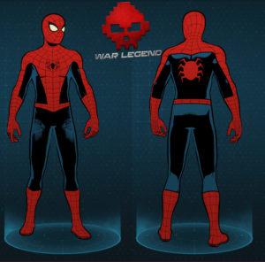Guide spider-man costume vintage