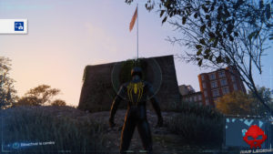 Spider-Man photo secrète Fort en ruine