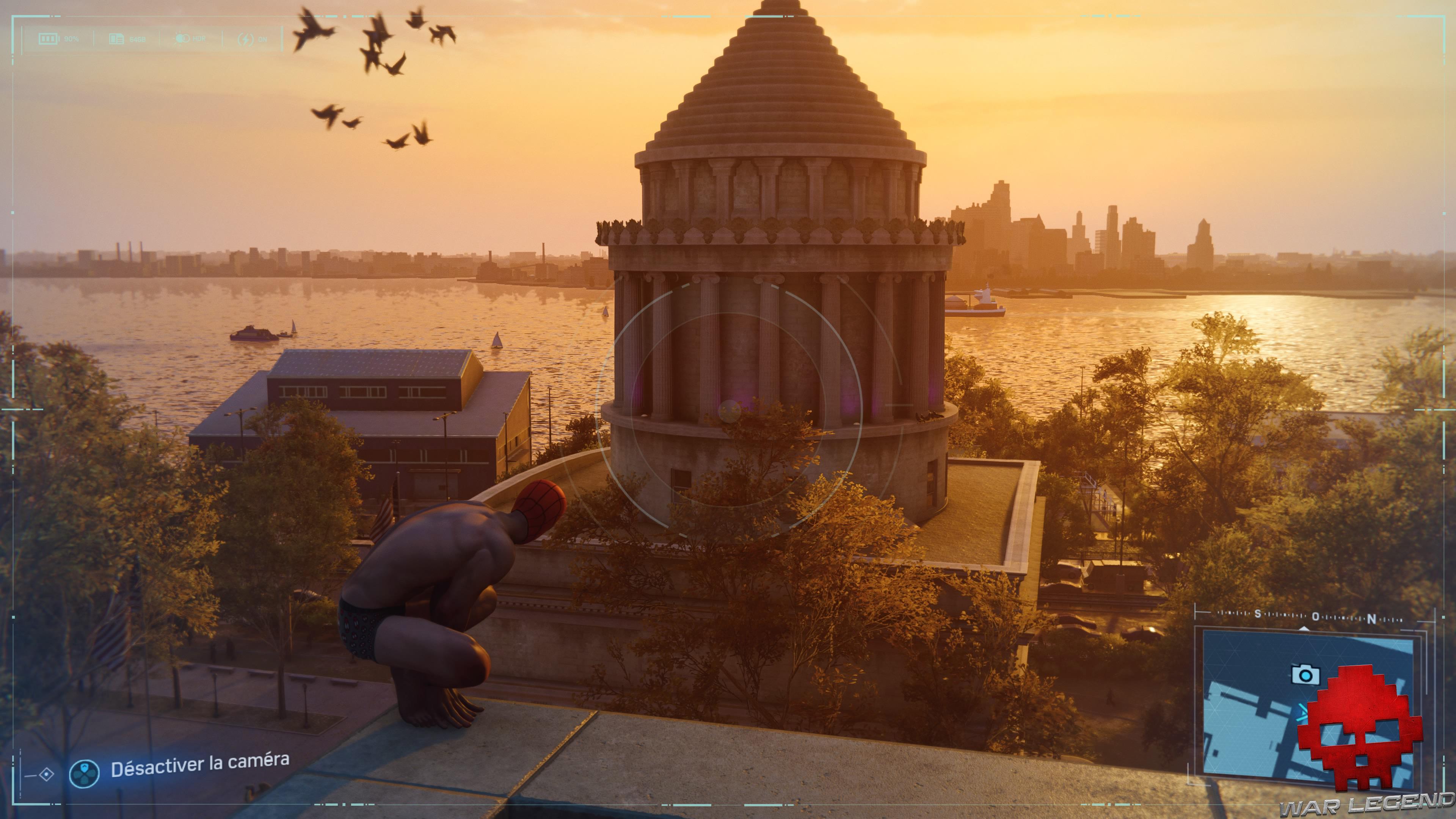 Spider-Man photo secrète General Grant National Memorial