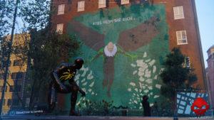 Spider-Man photo secrète Fresque du Vautour