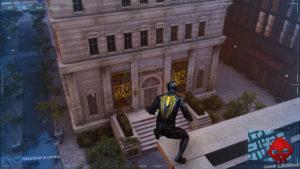Spider-Man photo secrète bibliothèque