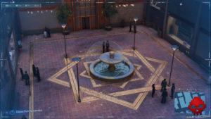 Spider-Man photo secrète fontaine
