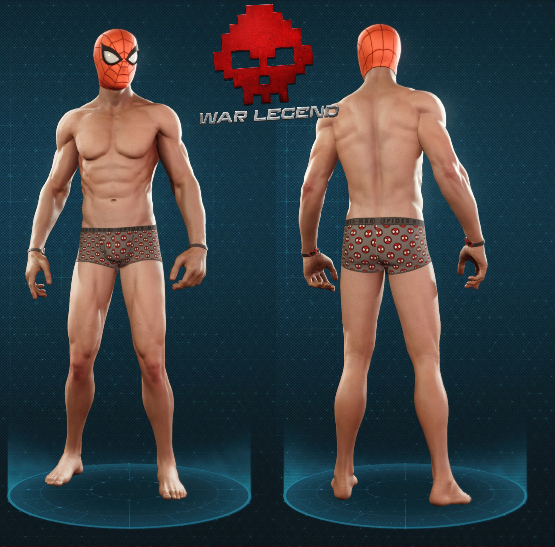 Guide spider-man sous-vêtements