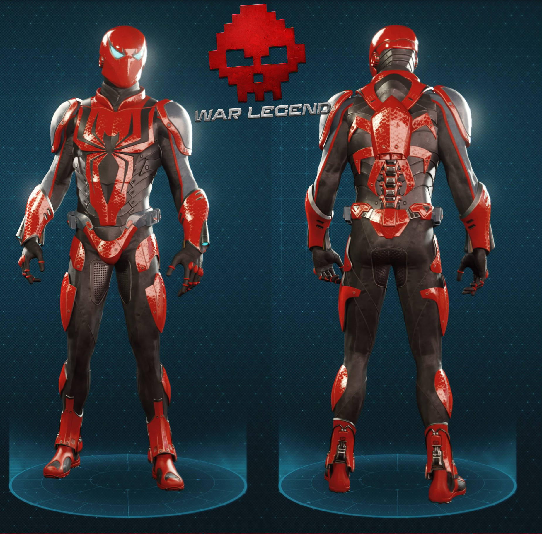 Guide spider-man spider-armure mkiii