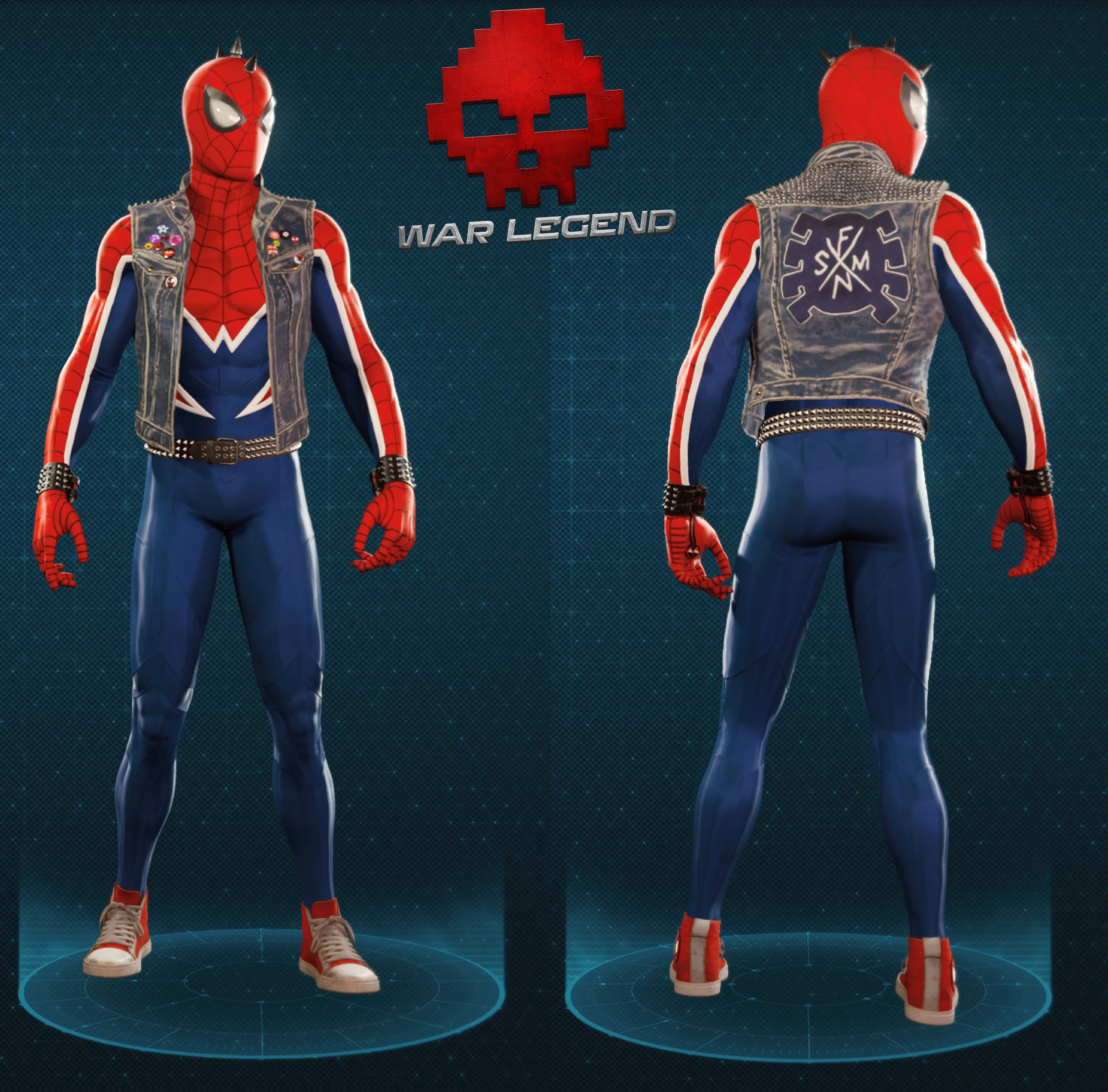 Guide spider-man spider-punk