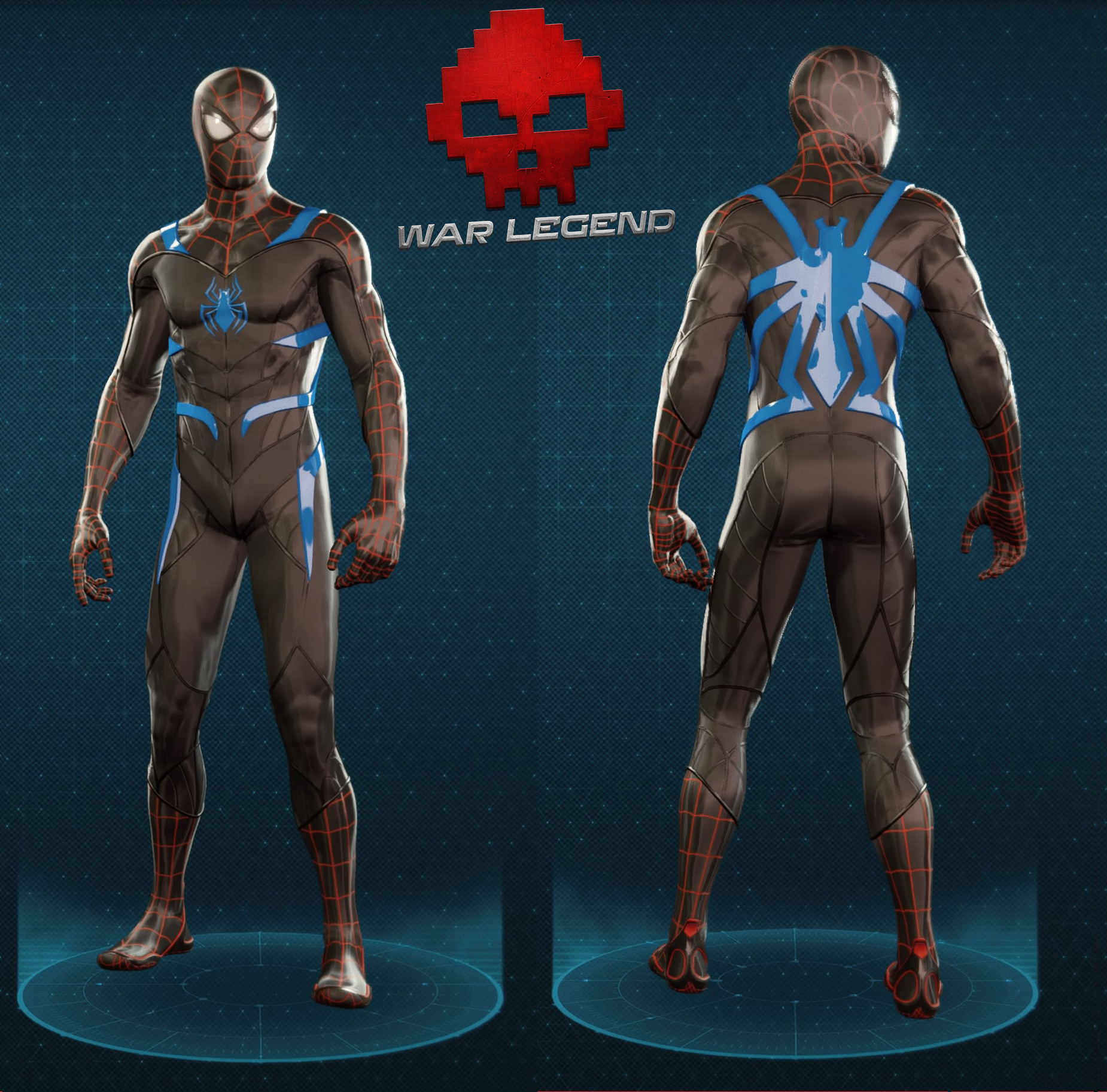 Guide spider-man tenue secret war