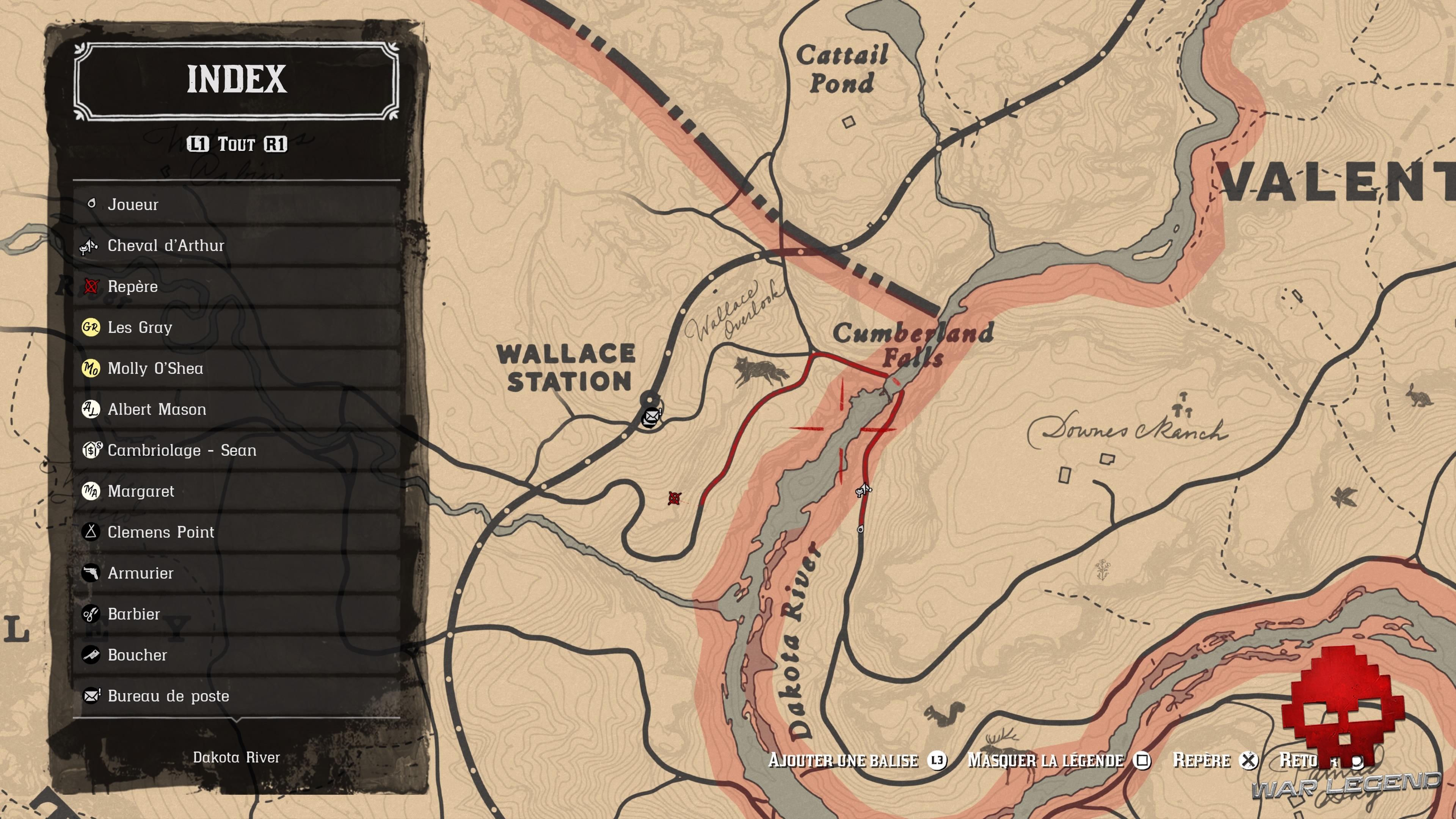 Soluce Red Dead Redemption 2 Le trésor à gros enjeux emplacement de la solution de la première partie de la carte au trésor à gros enjeux