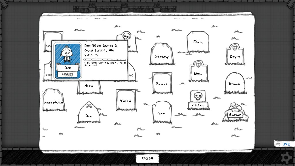 Guild of Dungeoneering Cemetery