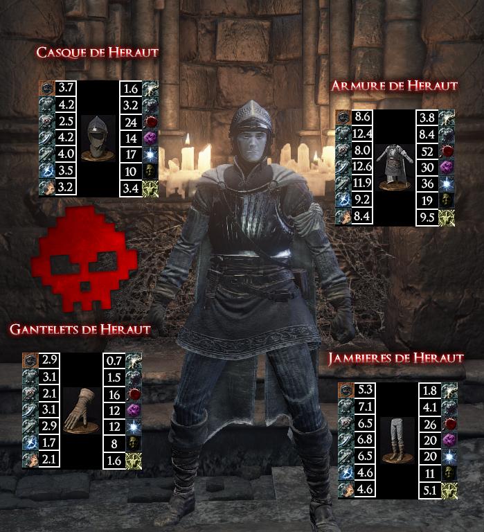Héraut Dark Souls III WAR LEGEND copie