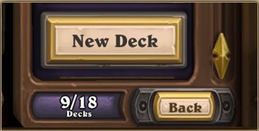 HS nouveaux decks