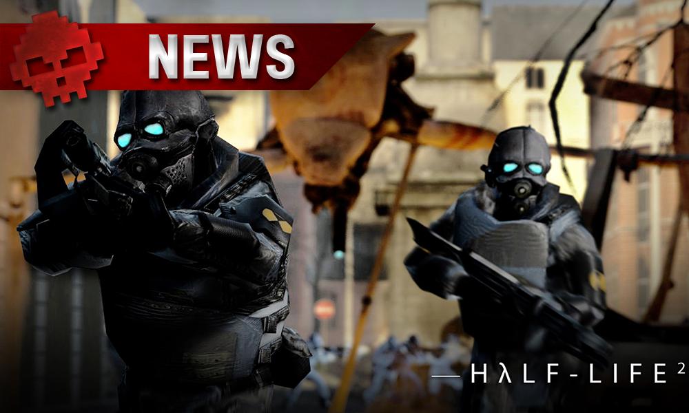 Half Life 2 - Des soldats s'apprêtent à tirer