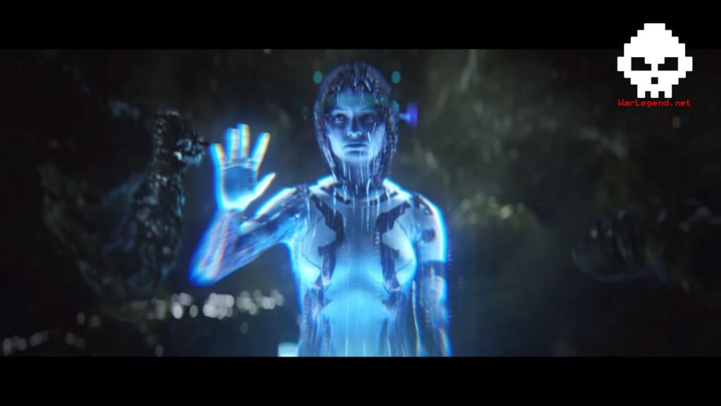 Halo 2 Cortana Fossoyeur