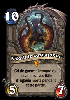 Hearthstone N'Zoth