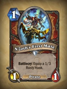 Hearthstone second NZoth