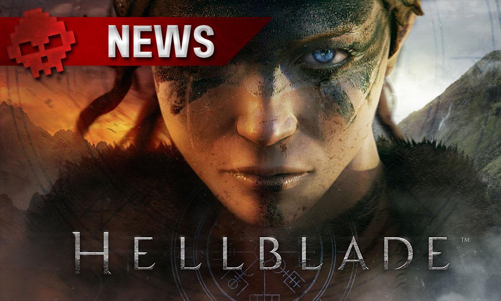 Hellblade: Senua's Sacrifice - Ninja Theory confirme sa sortie en 2017 Personnage Senua et Logo du jeu