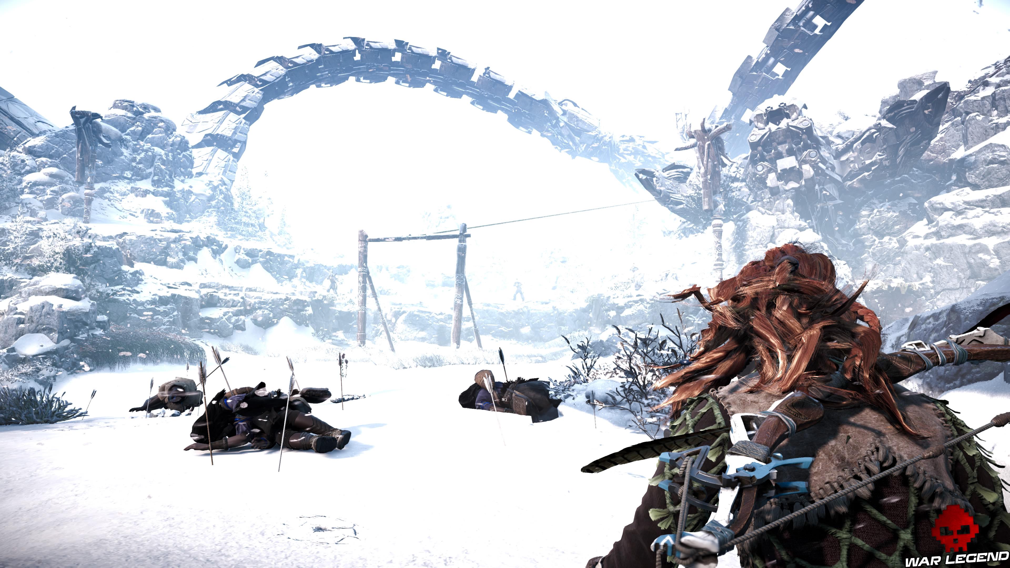 Soluce Horizon Zero Dawn - L'éclosion corps criblés de flèches