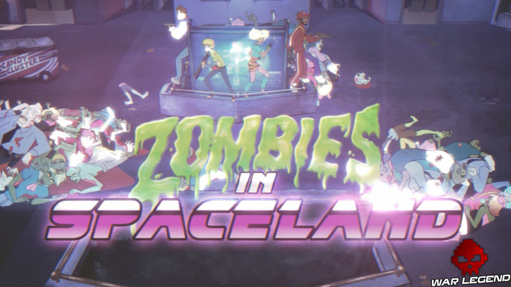 Test Call of Duty: Infinite Warfare zombies in spaceland affiche film
