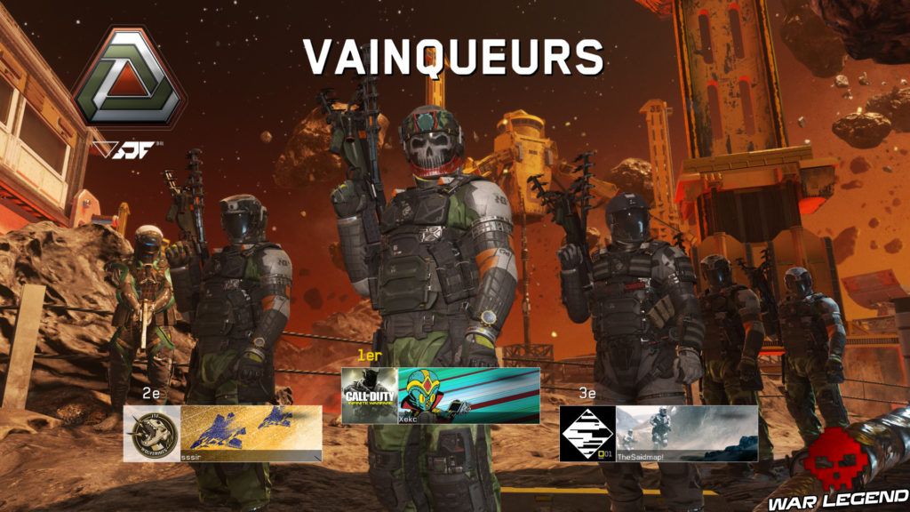 Test Call of Duty: Infinite Warfare image vainqueurs multijoueur