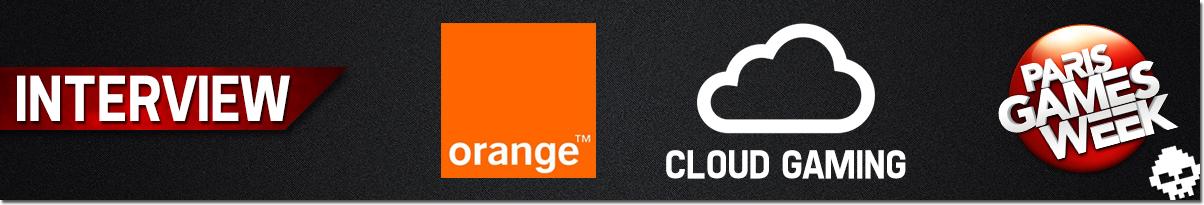 Interview Orange Cloud Gaming Banner