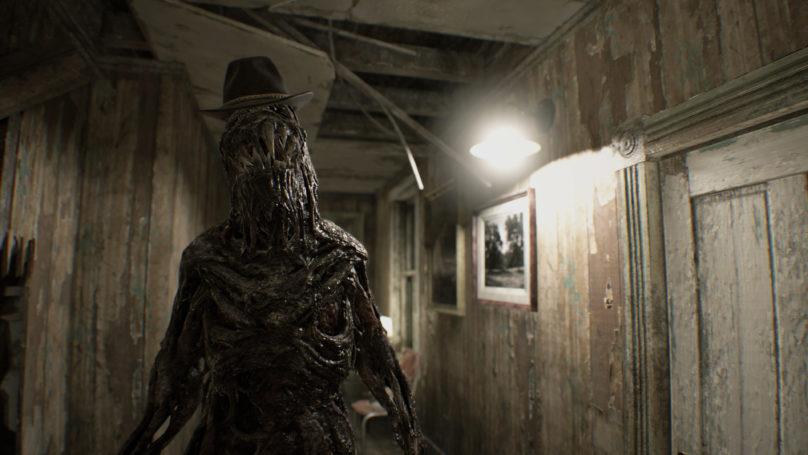 Resident Evil 7 - monstre avec un chapeau