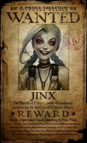 Jinx reward