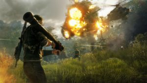 Just Cause 4 leak explosion