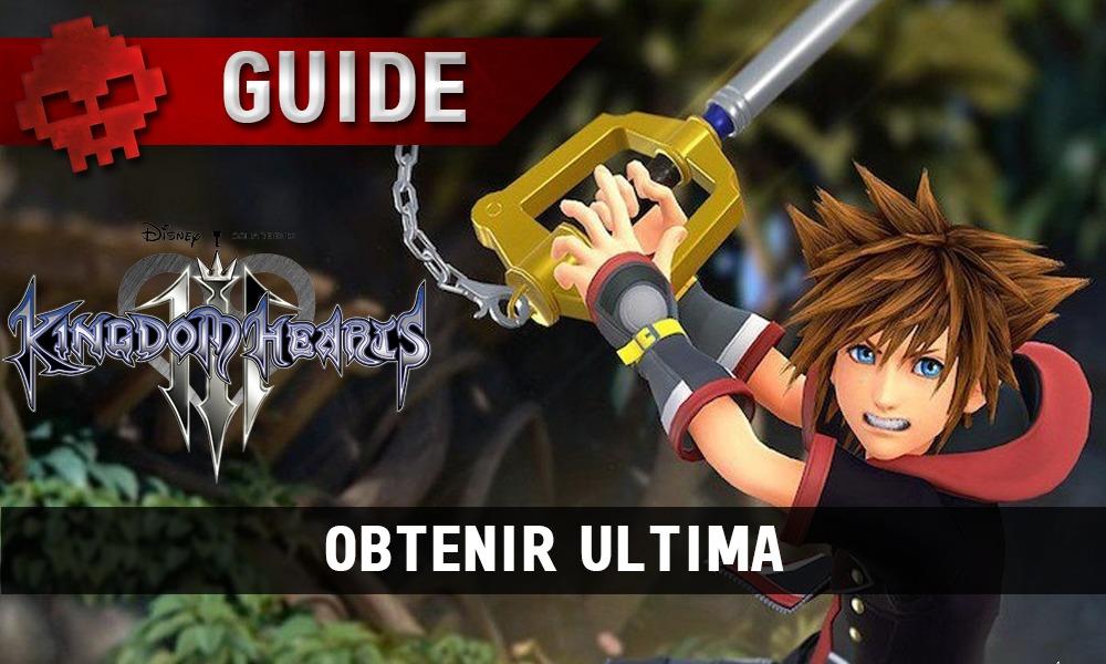 Kingdom Hearts 3 - vignette guide ultima