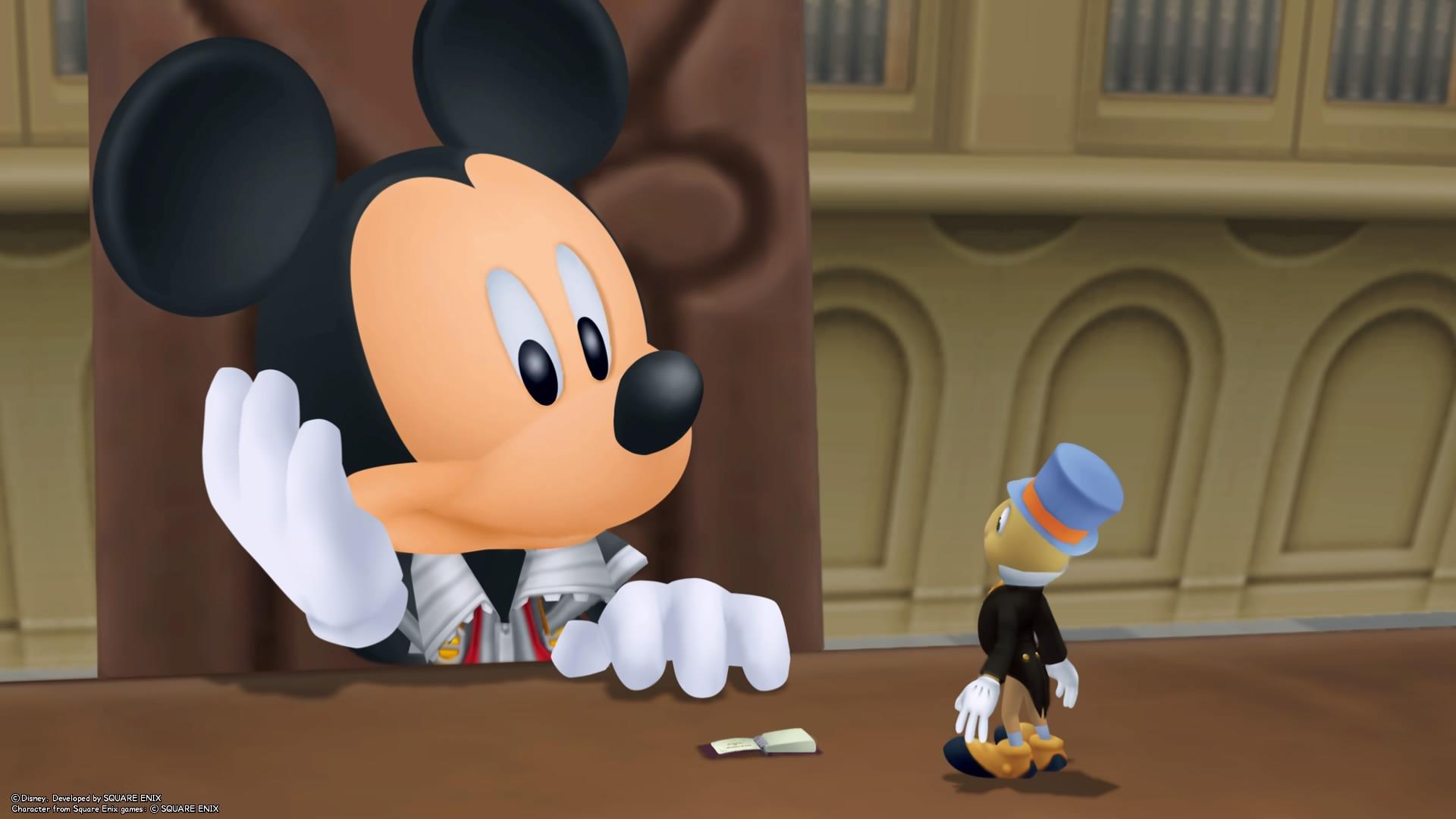 Mickey & Jiminy