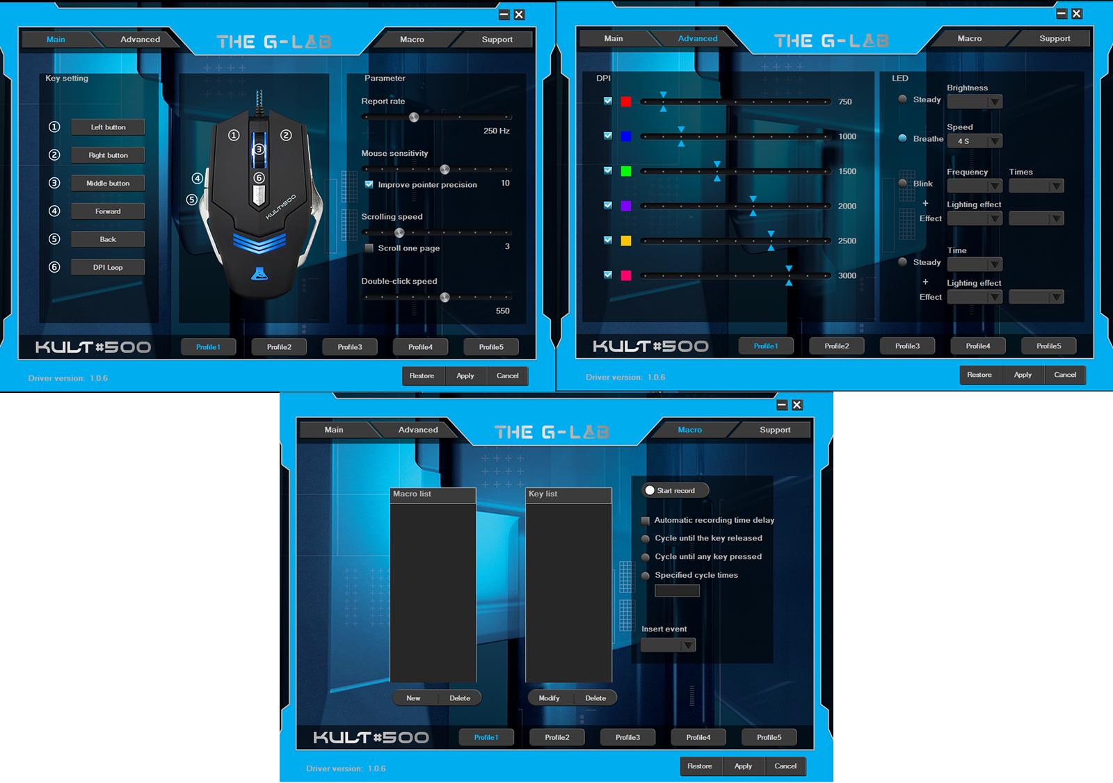 The G-lab KULT 500 - Le bon compromis qualité-prix logiciel kult gaming mouse réglages