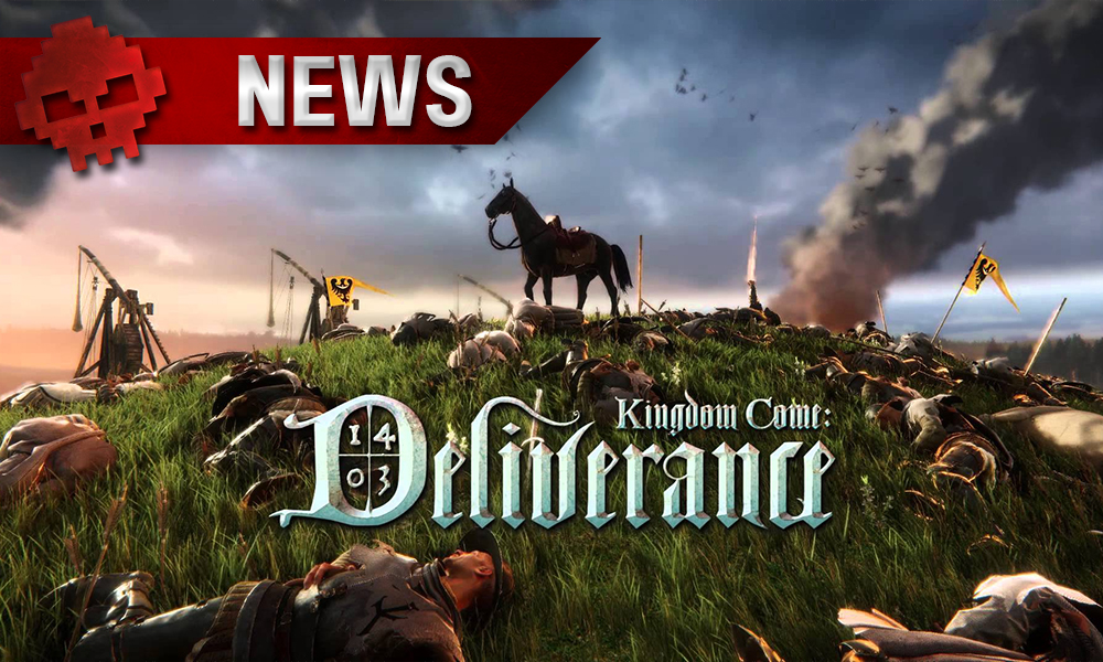 Kingdom Come: Deliverance - Un cheval sur un champ de bataille