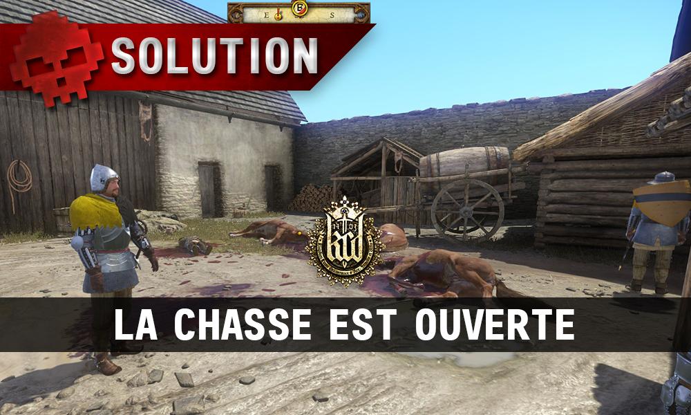 Kingdom Come La Chasse est Ouverte massacre